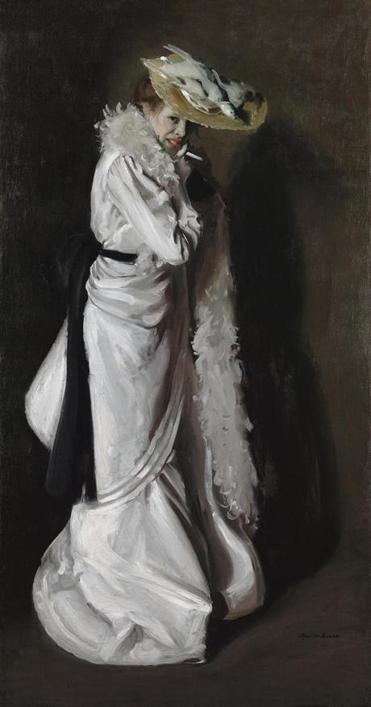 "Alfred Maurer's painting ""Jeanne."""